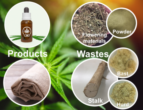 How to make valuable levulinic acid and cement additive from hemp waste